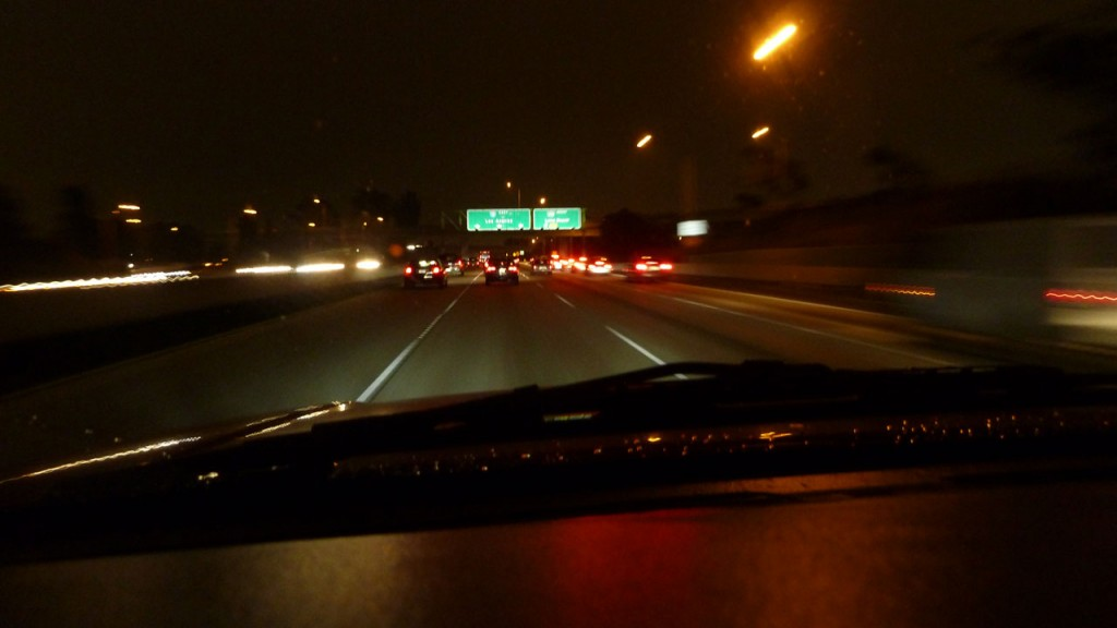 photo of 10 fwy at night