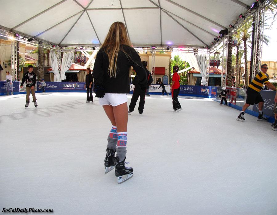Irvine spectrum ice skating rink