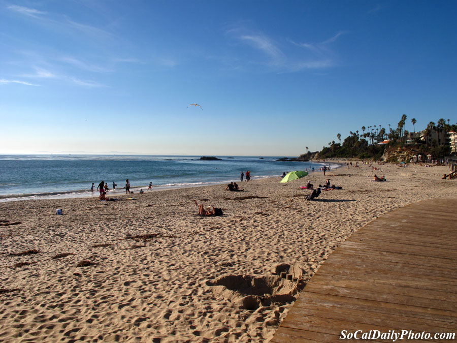 Laguna beach in December