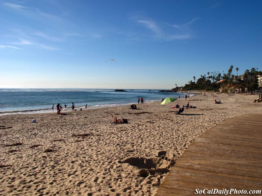 Laguna beach in December
