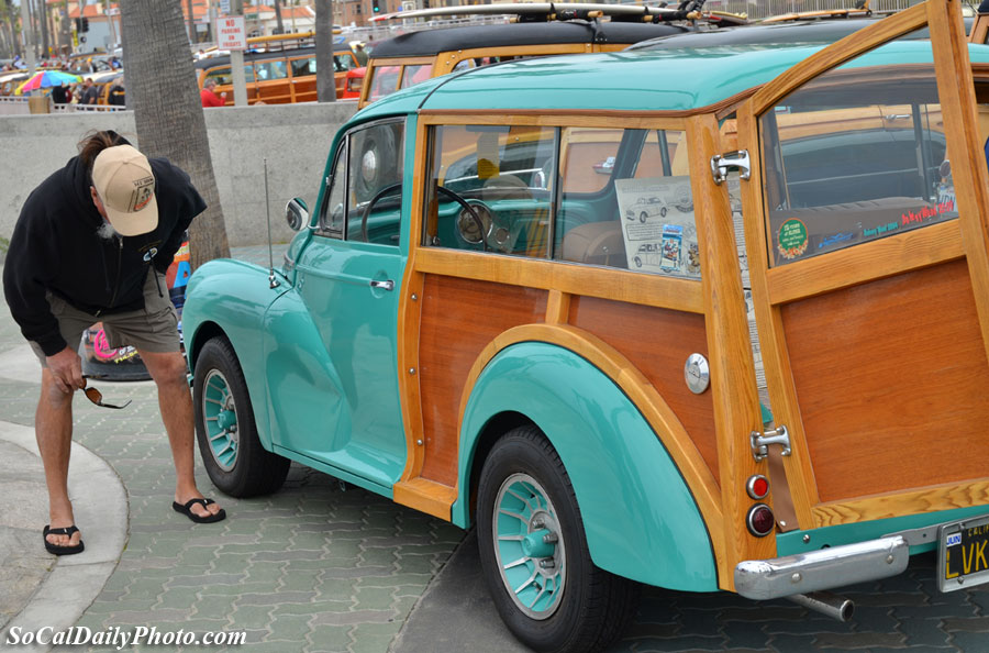 Huntington Beach '49 Morris Minor woody