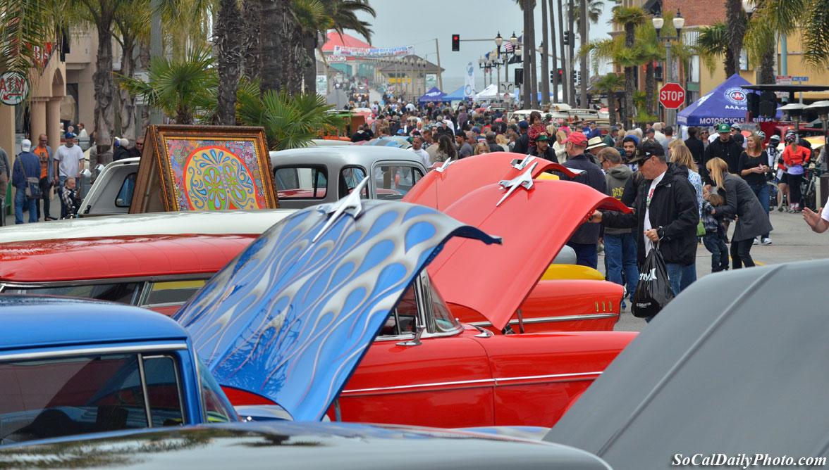huntington beach main car show
