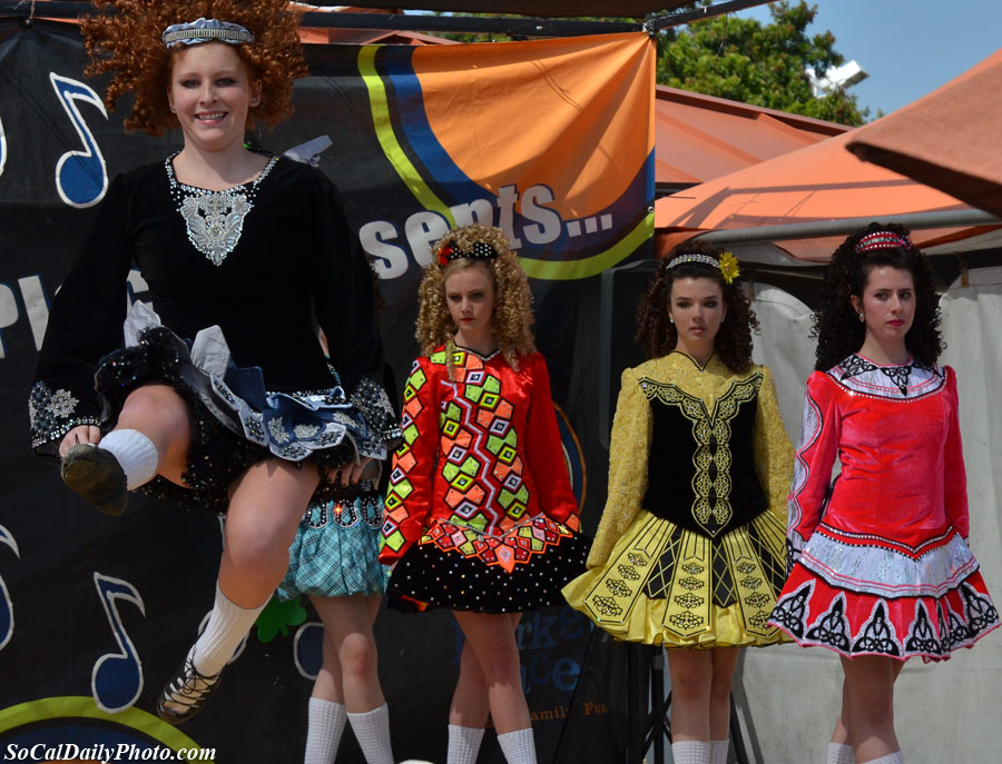 Aniar Irish Dancers Orange County Marketplace