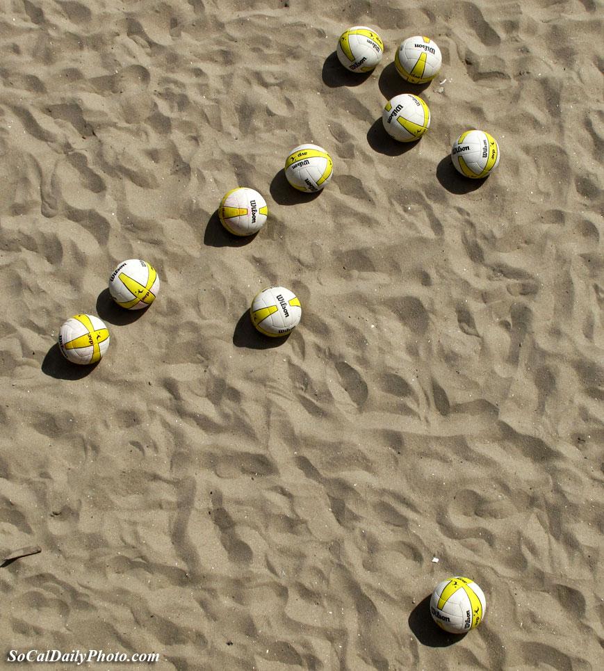 Wilson beach volleyballs