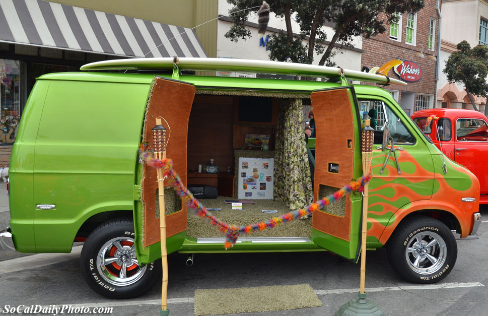 Huntington Beach car show 2011
