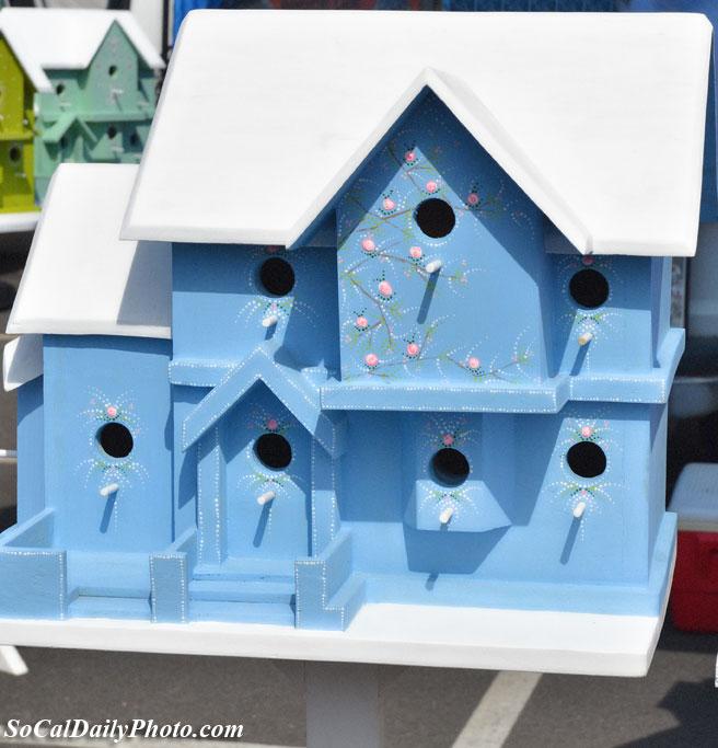 handmade large birdhouse