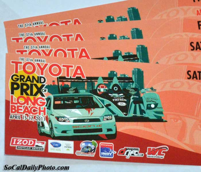 long beach grand prix 2011 tickets
