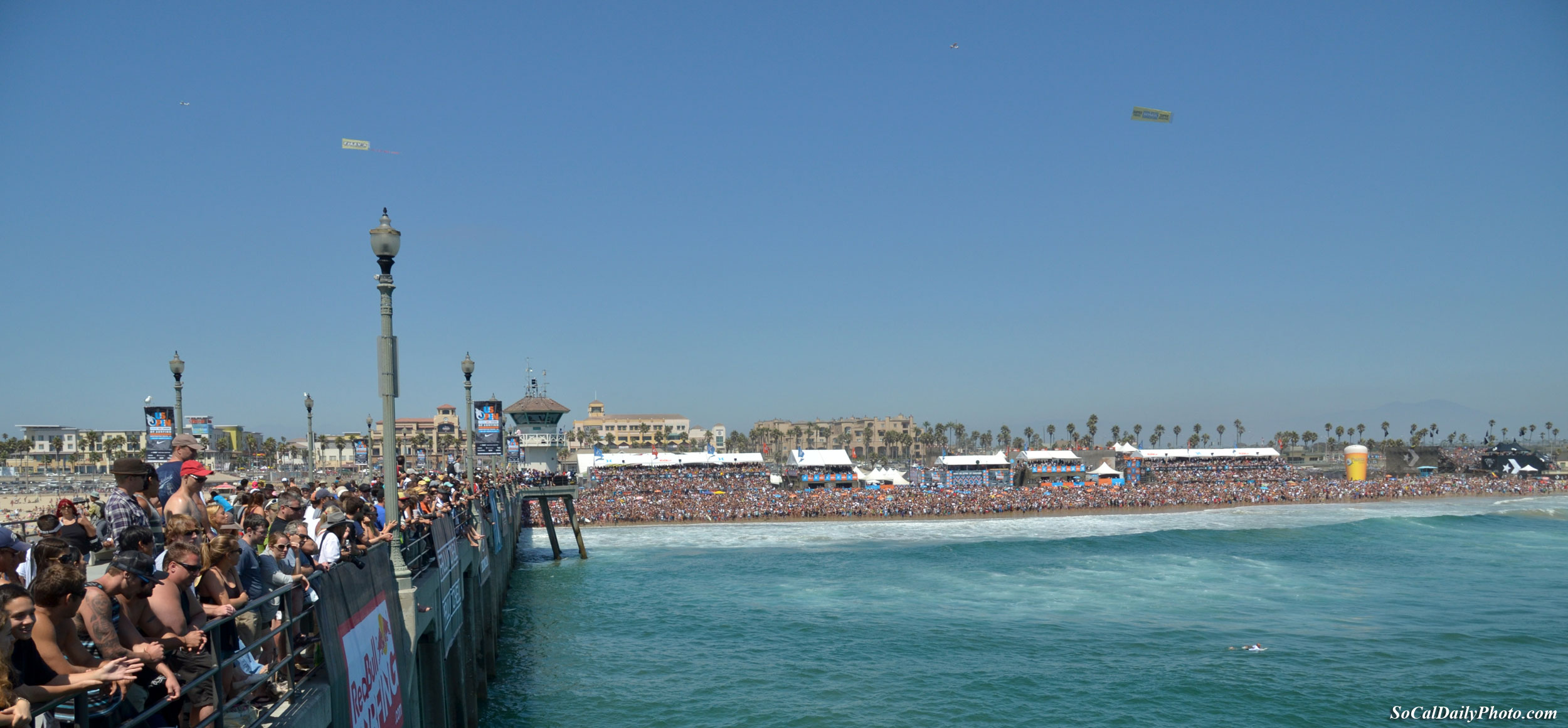 Huntington Beach panoramic