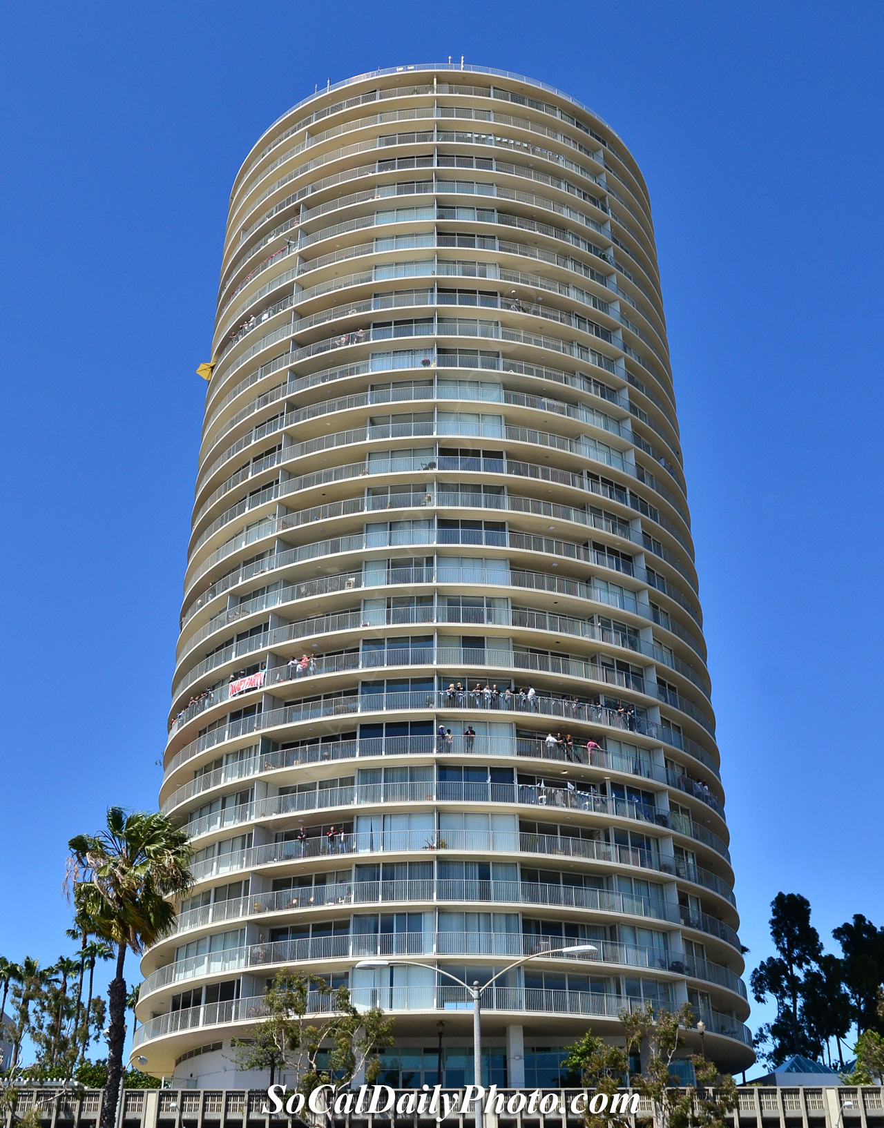 International Tower At Long Beach During The Grand Prix Southern California Daily Photo