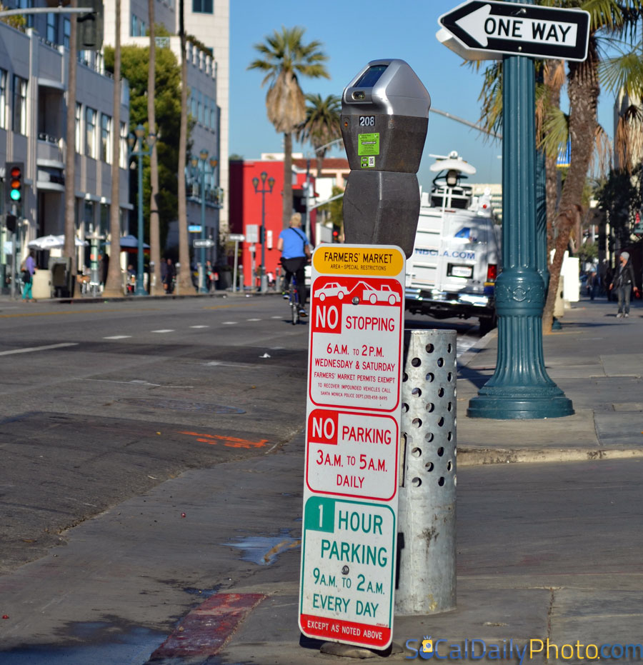 No Parking Signs Rules California