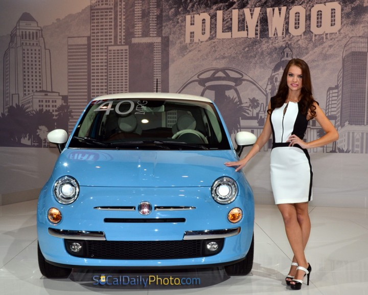 Fiat 500 1957 Edition with Samantha Skowronek