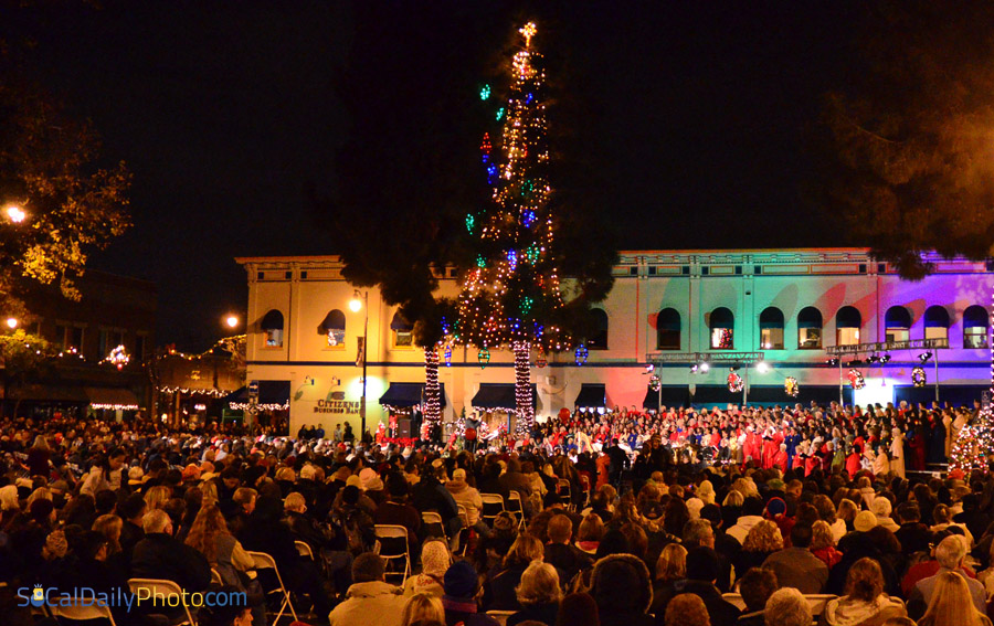 19th Annual Tree Lighting Ceremony and Candlelight Choir Procession & City of Orange Annual Tree Lighting Ceremony | Southern California ...