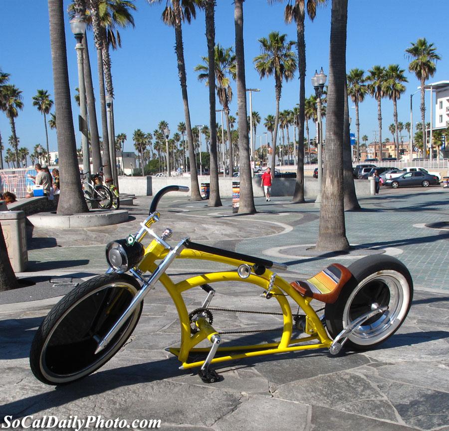 Bicycle At Huntington Beach