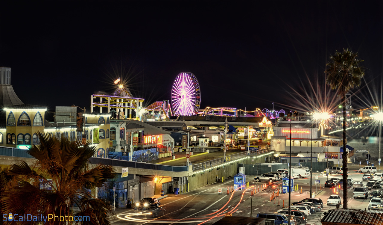 Pacific Park At The Santa Monica Pier Southern